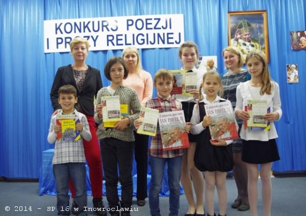 Szkolny Konkurs Recytatorski Poezji I Prozy Religijnej